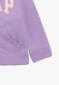 GAP - TODDLER GIRL LOGO - Zip-up hoodie - purple - 2