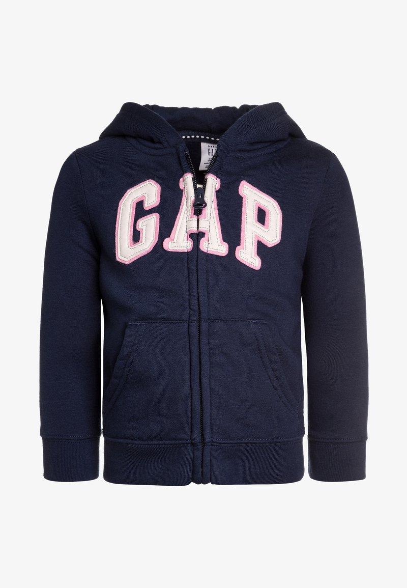 GAP - TODDLER GIRL LOGO - Felpa aperta - elysian blue
