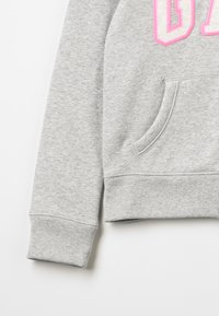 GAP - GIRLS ACTIVE LOGO - Felpa aperta - heather grey - 2
