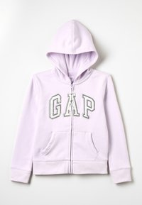 GAP - GIRLS ACTIVE LOGO - Zip-up hoodie - purple lilac - 0