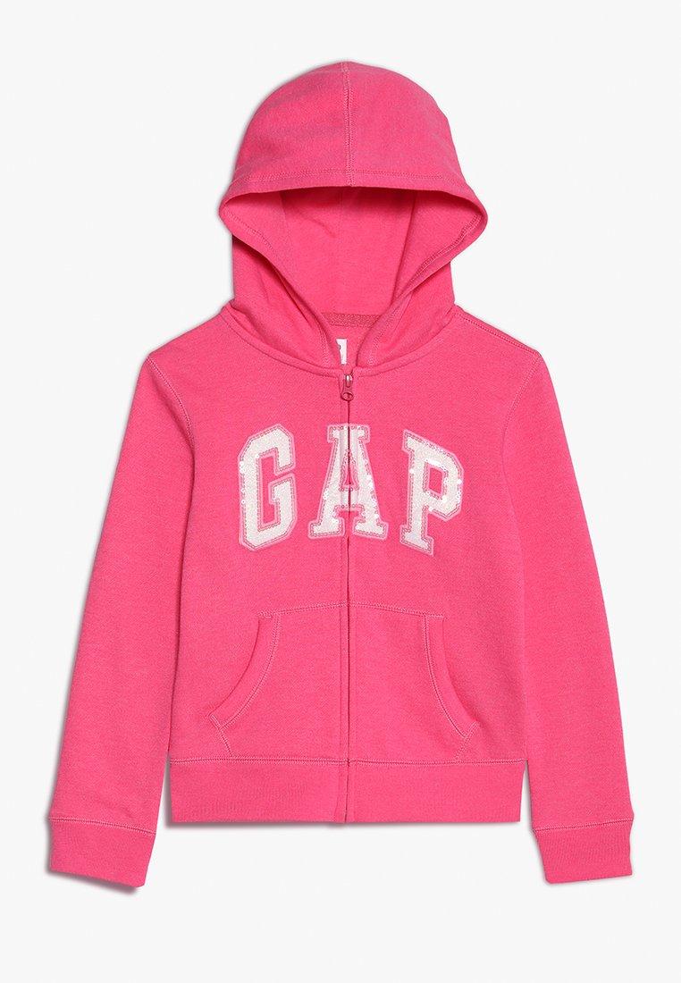 GAP - GIRLS ACTIVE LOGO - Mikina na zip - pink jubilee