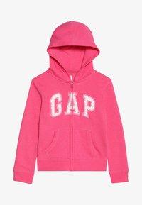 GAP - GIRLS ACTIVE LOGO - veste en sweat zippée - pink jubilee - 3
