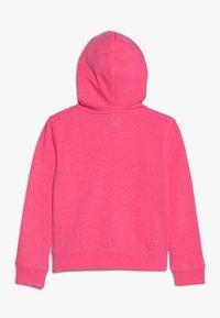 GAP - GIRLS ACTIVE LOGO - veste en sweat zippée - pink jubilee - 1