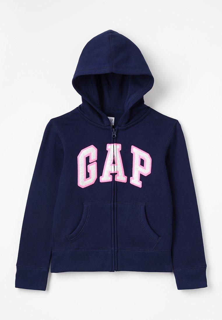 GAP - GIRLS ACTIVE LOGO - Zip-up hoodie - elysian blue