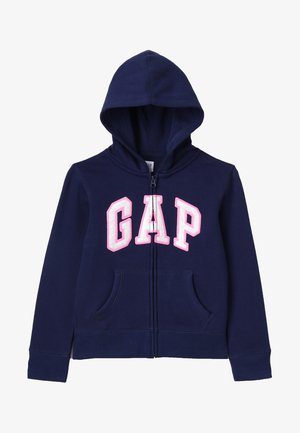 GIRLS ACTIVE LOGO - Felpa aperta - elysian blue