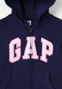 GAP - GIRLS ACTIVE LOGO - Felpa aperta - elysian blue - 4
