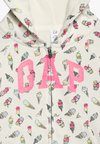 GAP - TODDLER GIRL  - Huvtröja med dragkedja - off-white