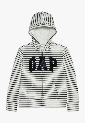GIRLS ACTIVE LOGO - Zip-up hoodie - navy