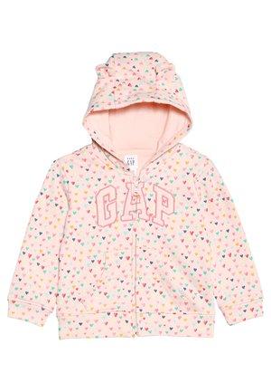 ARCH BABY - veste en sweat zippée - silk powder
