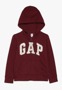 GAP - GIRLS LOGO  - veste en sweat zippée - light rosewood - 0