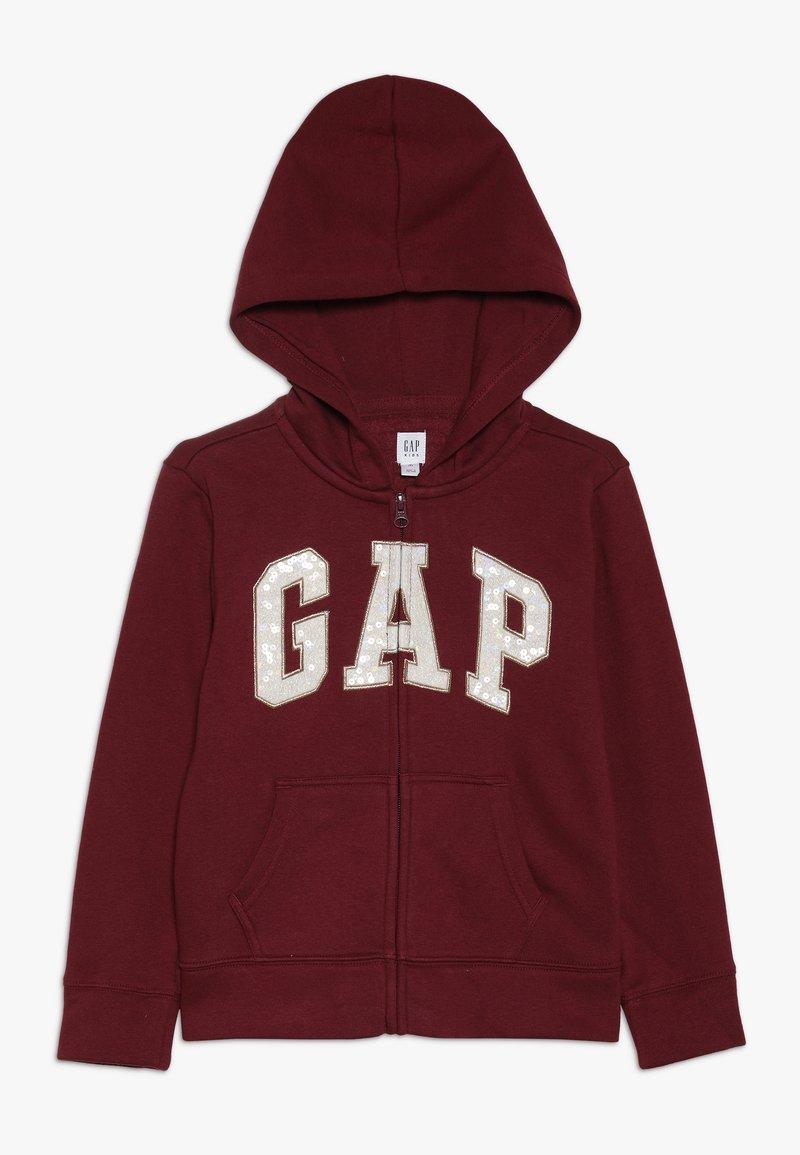 GAP - GIRLS LOGO  - veste en sweat zippée - light rosewood