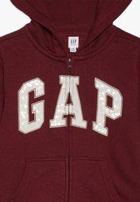 GAP - GIRLS LOGO  - veste en sweat zippée - light rosewood - 4