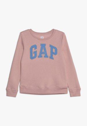 GIRLS LOGO - Sweater - pink standard