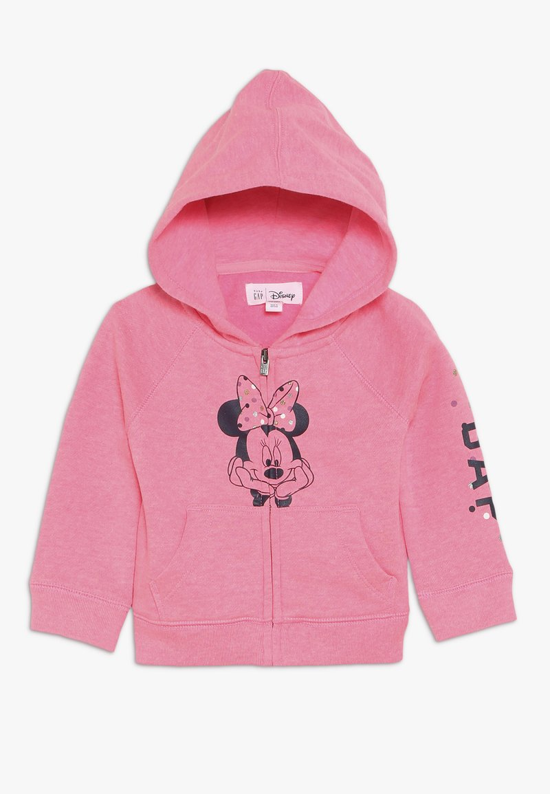 GAP - TODDLER GIRL MINNIE - Sudadera con cremallera - pink light
