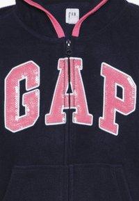 GAP - GIRL LOGO  - Fleecová bunda - navy uniform - 4