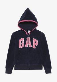GAP - GIRL LOGO  - Fleecová bunda - navy uniform - 3