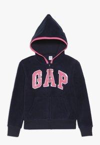 GAP - GIRL LOGO  - Fleecová bunda - navy uniform - 0