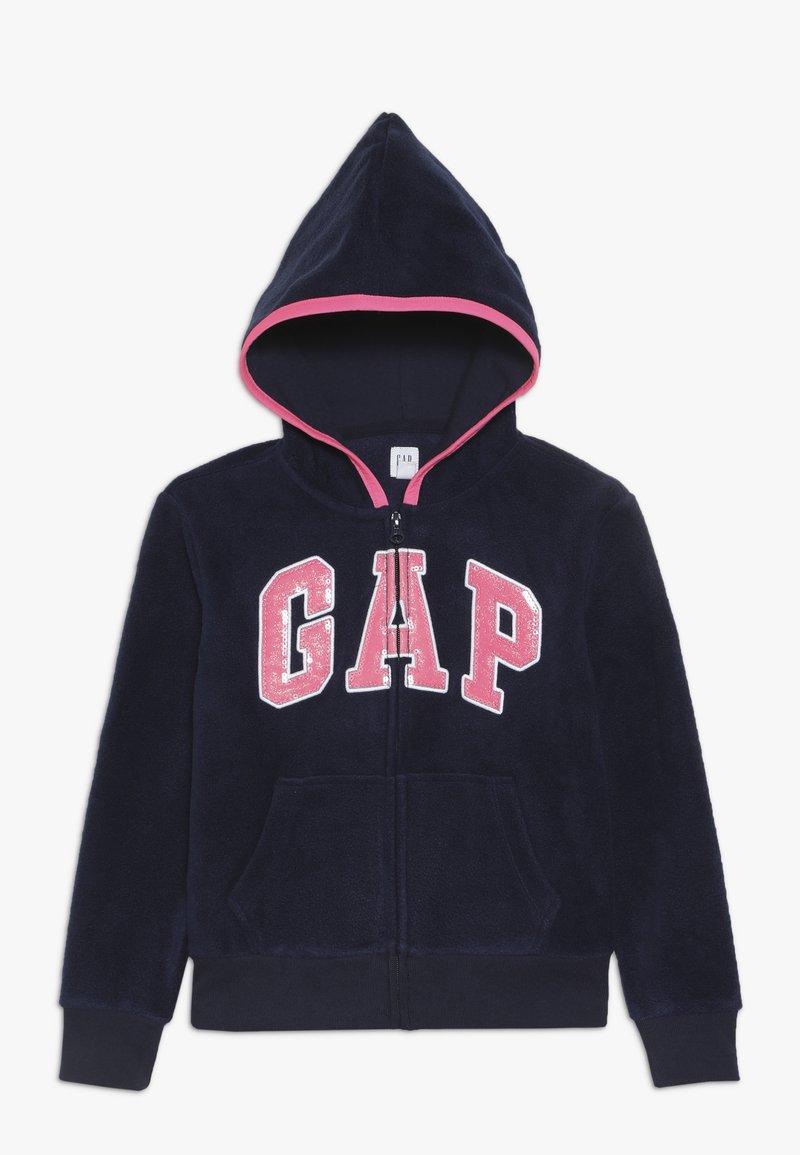 GAP - GIRL LOGO  - Fleecová bunda - navy uniform