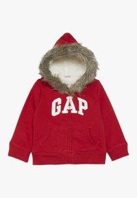 GAP - TODDLER GIRL LOGO  - Forro polar - modern red - 0
