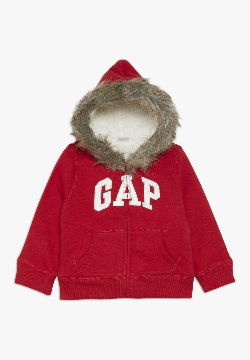 GAP - TODDLER GIRL LOGO  - Forro polar - modern red