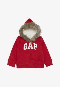 GAP - TODDLER GIRL LOGO  - Forro polar - modern red - 2