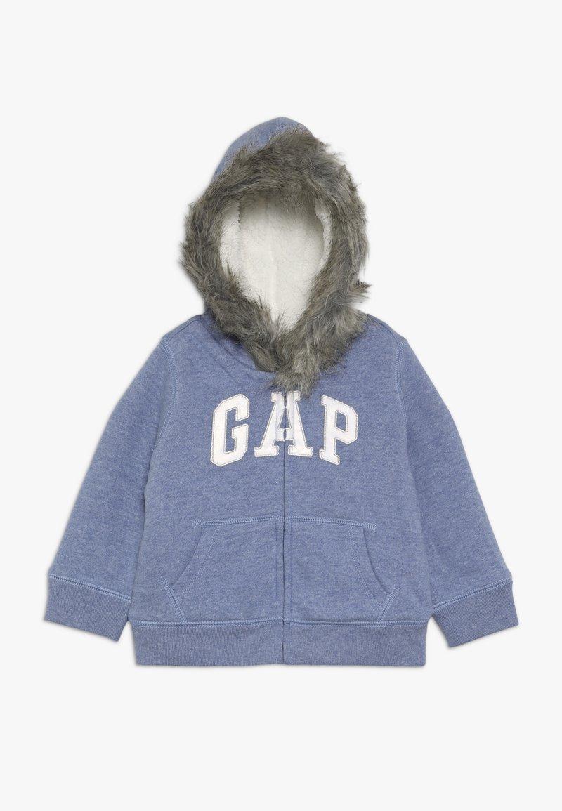 GAP - TODDLER GIRL LOGO  - Forro polar - true indigo