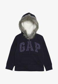 GAP - GIRL LOGO COZY  - Zip-up hoodie - navy uniform - 2