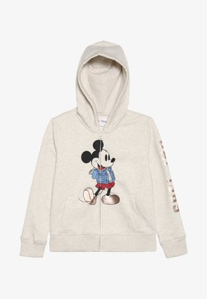 MICKEY MOUSE GIRL ARCH  - Mikina na zip - offwhite
