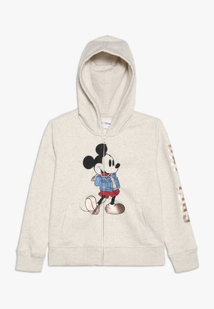 MICKEY MOUSE GIRL ARCH  - Zip-up hoodie - offwhite