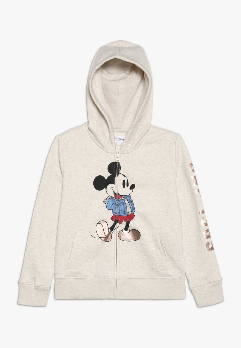 GAP - MICKEY MOUSE GIRL ARCH  - Zip-up hoodie - offwhite