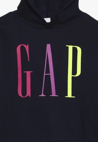 GAP - GIRL LOGO  - Mikina s kapucí - navy uniform - 4