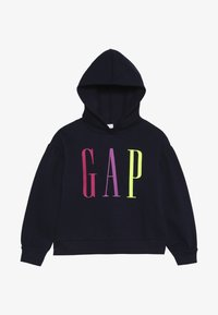 GAP - GIRL LOGO  - Mikina s kapucí - navy uniform - 3