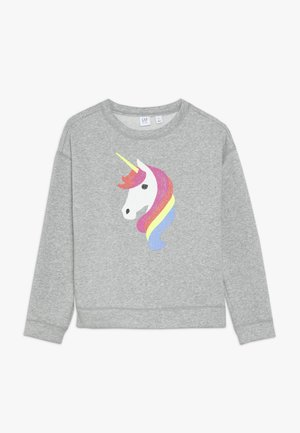 GIRL DOLMAN - Sweatshirt - grey heather