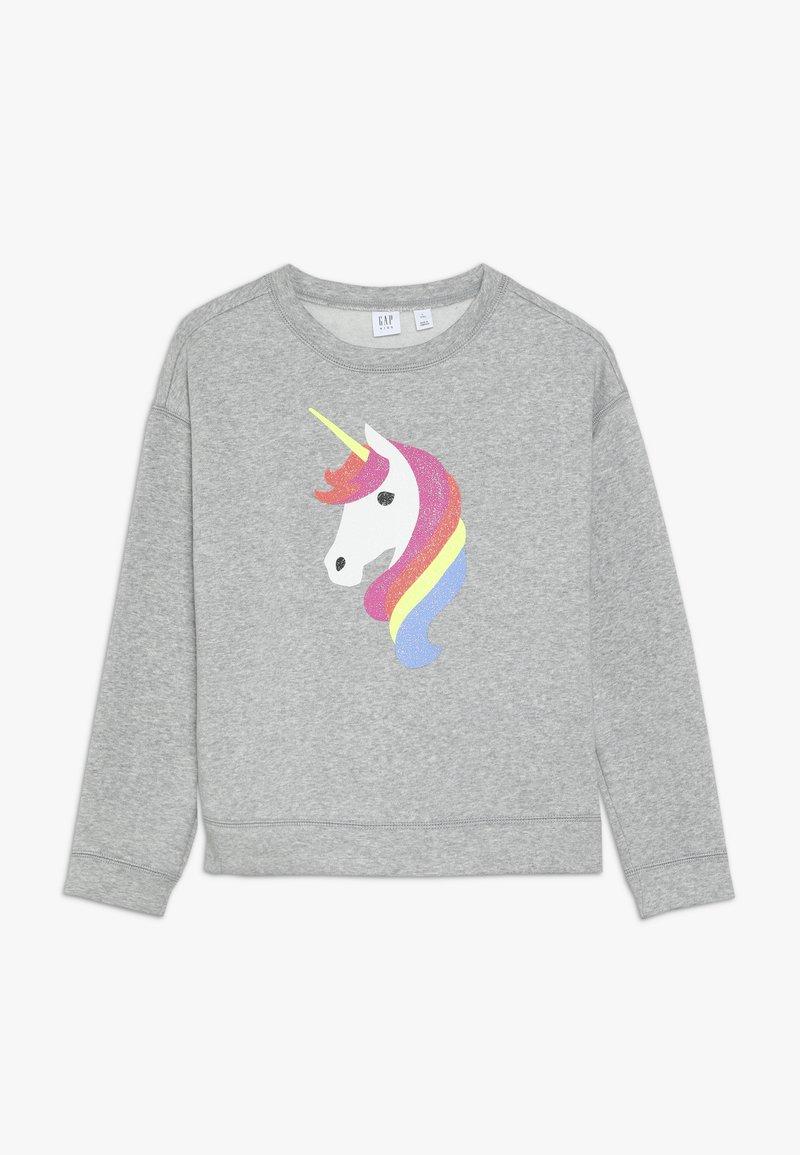 GAP - GIRL DOLMAN - Sweatshirts - grey heather