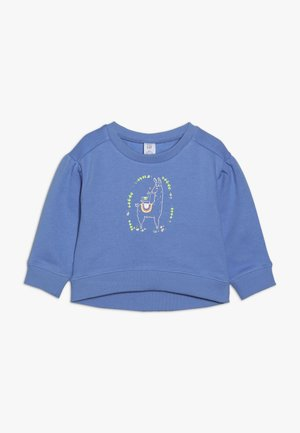 TODDLER GIRL GRAPHIC - Sweater - moore blue