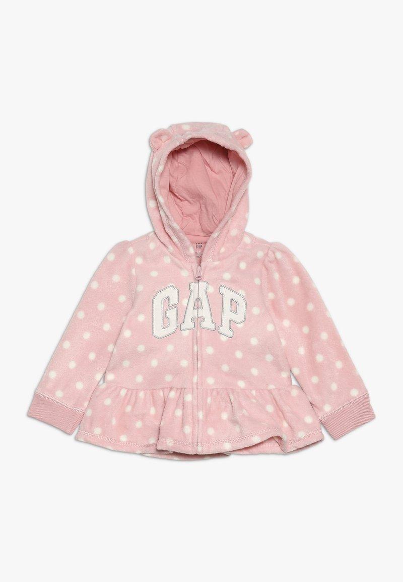 GAP - ARCH HOOD BABY - Fleecejakker - pink standard
