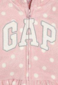 GAP - ARCH HOOD BABY - Veste polaire - pink standard - 2