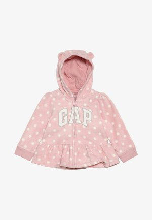 ARCH HOOD BABY - Giacca in pile - pink standard