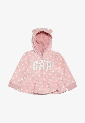 ARCH HOOD BABY - Fleecejacke - pink standard