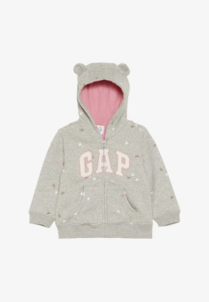 FALL ARCH HOOD BABY - veste en sweat zippée - light heather grey