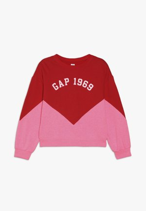 GIRL FAMILY LOGO CREW - Sweater - pure red