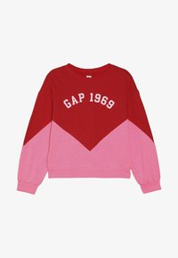 GAP - GIRL FAMILY LOGO CREW - Mikina - pure red - 2
