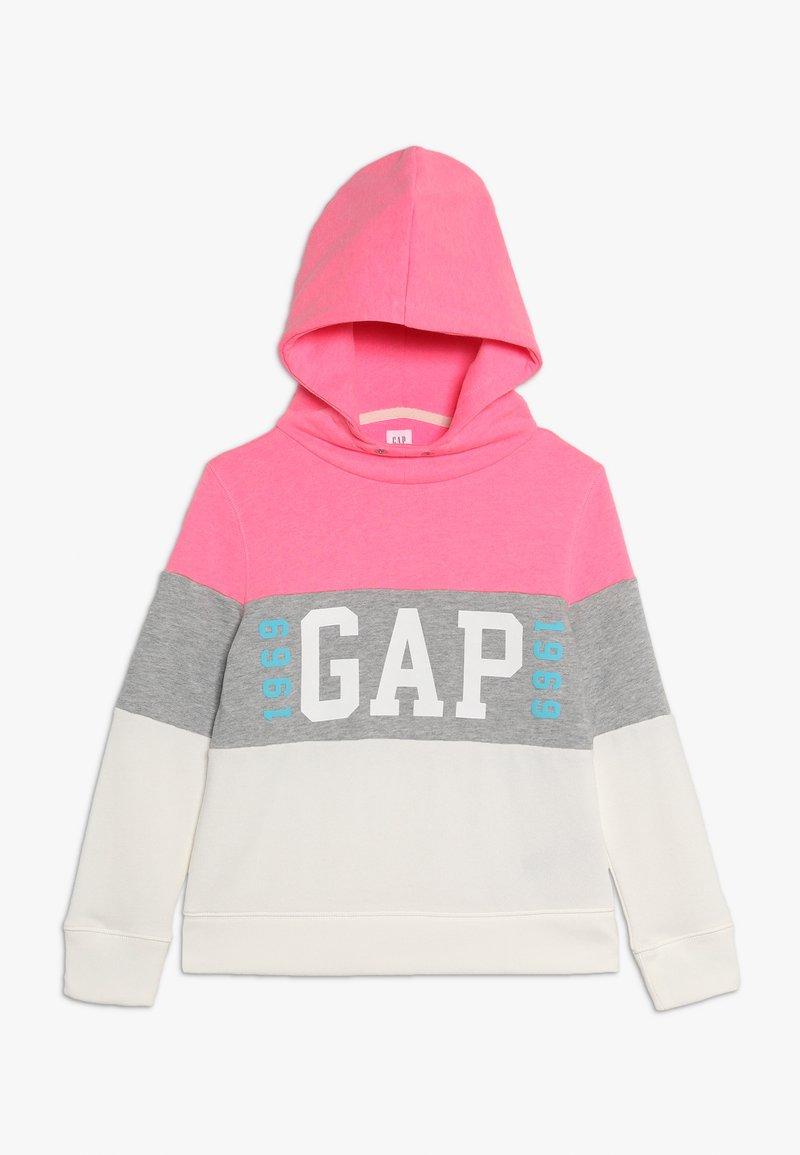 GAP - GIRL FAMILY LOGO - Hoodie - neon pink/rose