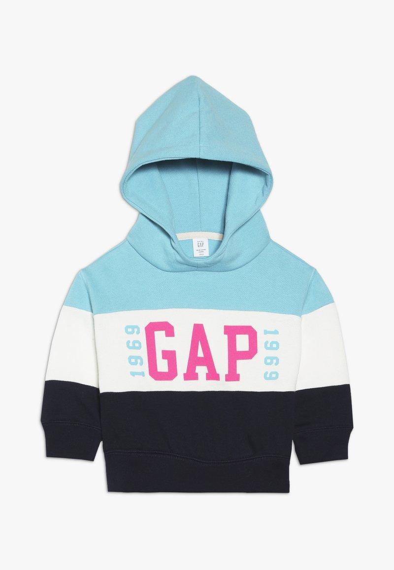 GAP - TODDLER GIRL LOGO - Hoodie - blue
