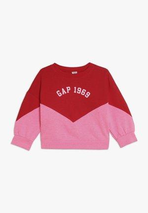 TODDLER GIRL LOGO CREW - Sweatshirt - pink
