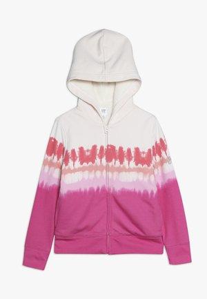GIRL COZY - veste en sweat zippée - pink