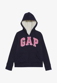 GAP - GIRL COZY - Zip-up hoodie - navy uniform - 2
