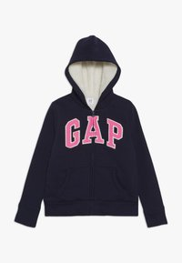 GAP - GIRL COZY - Zip-up hoodie - navy uniform - 0