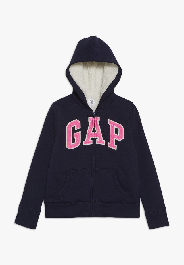 GIRL COZY - Zip-up hoodie - navy uniform