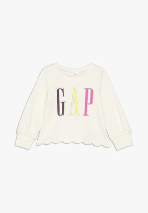TODDLER GIRL SCALLOP - Sweater - ivory frost
